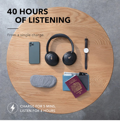 Anker Life Q30 Hybrid Active Noise Cancelling Headphones