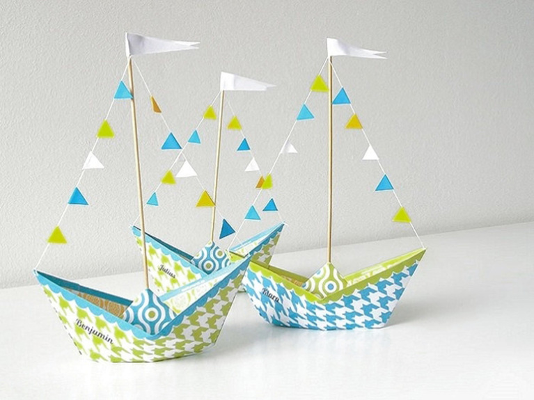 Handmade paper ship crafts | Paper Origami Guide