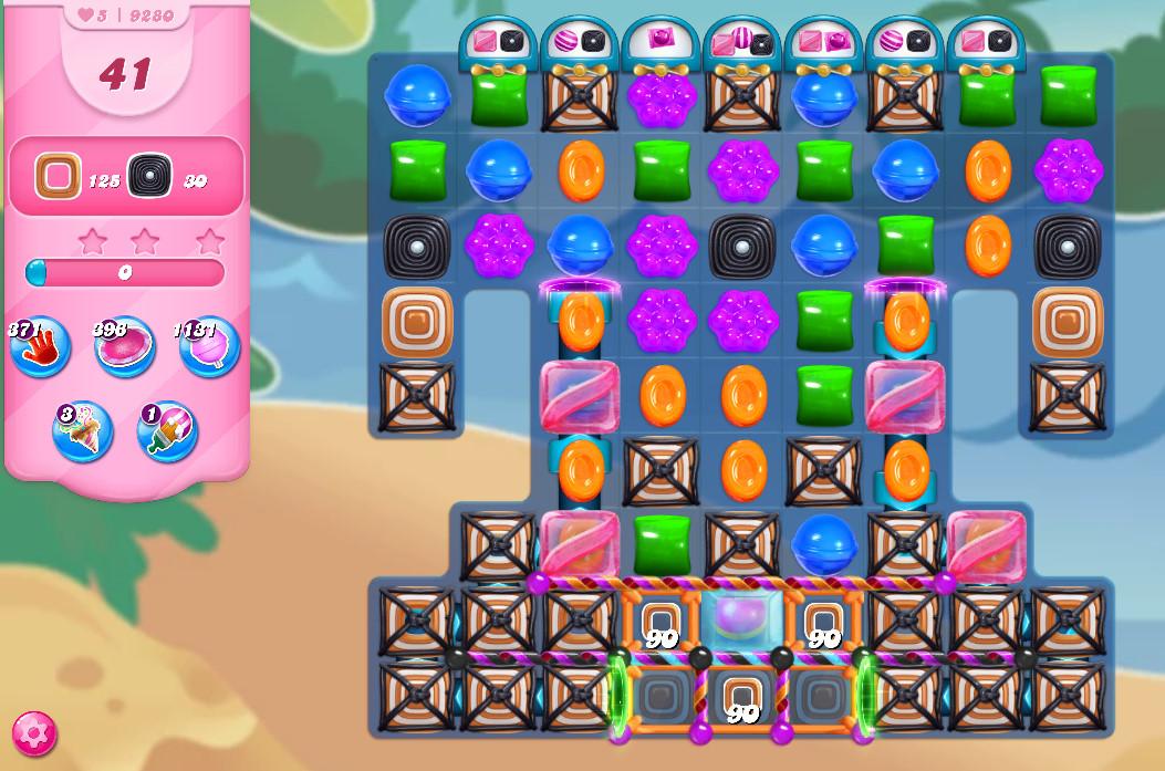 Candy Crush Saga level 9280