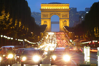 Champs Elysees at Night