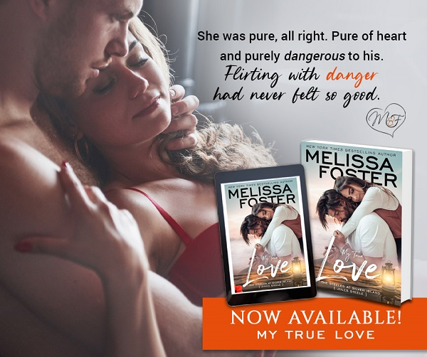 She was pure, all right. Pure of heart and purely dangerous to his. Flirting with danger had never felt so good. Now Available! My True Love.