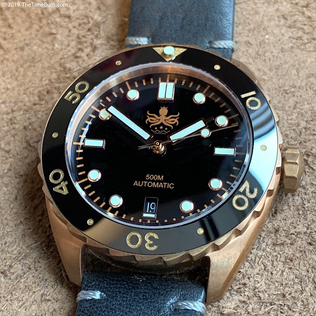 Phoibos Eagle Ray Bronze Black