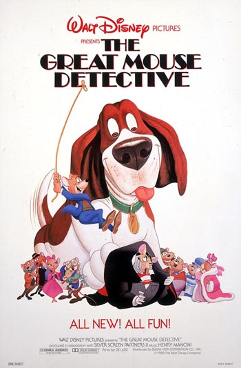 The Great Mouse Detective 1986 480p 200MB BRRip Dual Audio