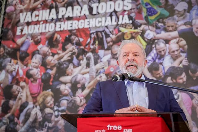 Ex-presidente Lula articula vinda de vacina e insumos da Rússia e China