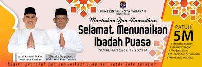Marhaban Yaa Ramadhan 1442 H - Pemkot Tarakan
