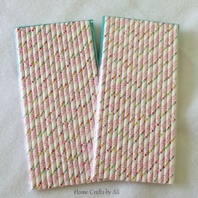 National Craft Month Craft Supply Giveaway spring paper straws