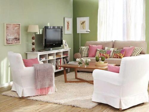 Salas peque as decoraci n ideas para decorar dise ar y for Decoraciones de sala modernas para apartamentos