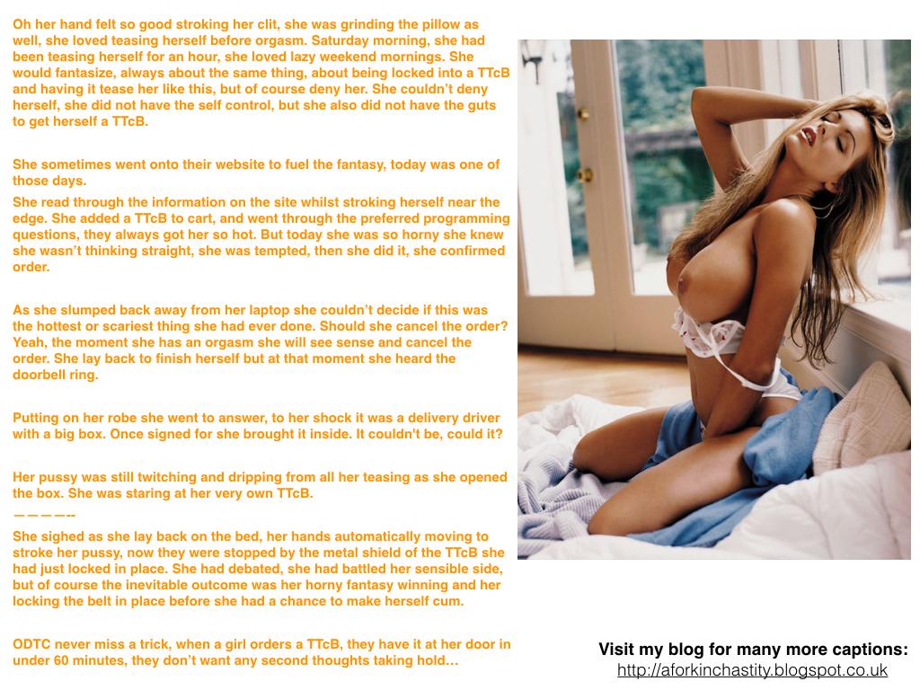 Caption 602: Female Orgasm Denial