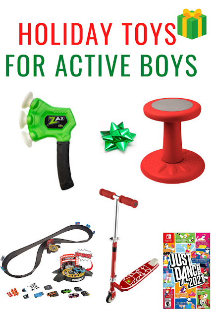 Holiday Toys for Active Boys Gift Guide