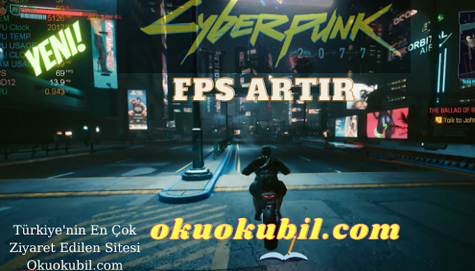 Cyberpunk 2077 Booster FPS Artır, Optimizer Aracı - Oyun Gecikmesini Anında Azaltın