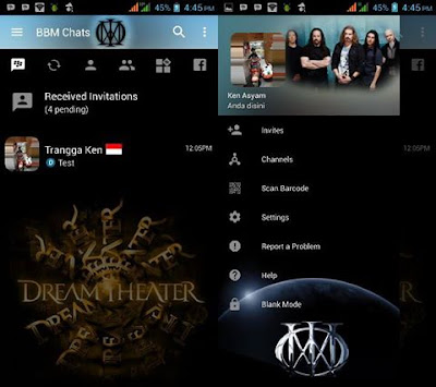 BBM Mod Dream Theater V3.2.2.8 Apk