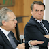 Após fala de Bolsonaro, Guedes diz que 'economia está voltando em V'
