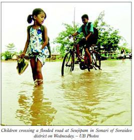 বরাক তম্পাক্কী  খোমজিনবা পাউ খরা  ২৮-০৬-২০১৮