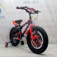 16 pacific hotshot fx30 fat tire bmx sepeda anak
