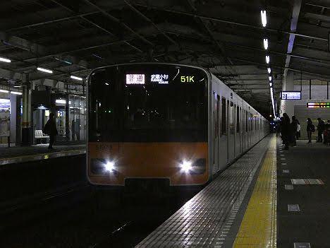 【ダイヤ乱れで代走!】50070系の東武東上線 普通 武蔵小杉行き