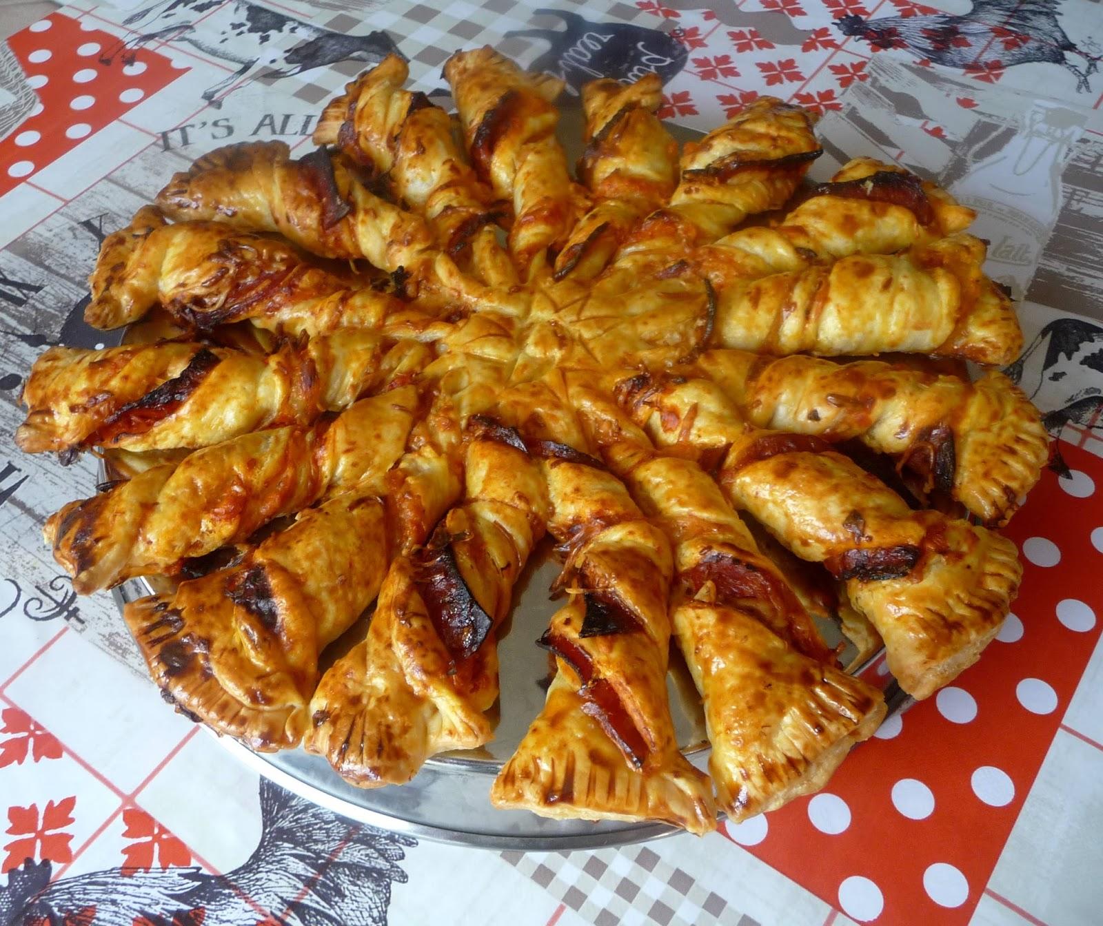 Cuillere Aiguille Et Scie Sauteuse Tarte Soleil Poivron Chorizo