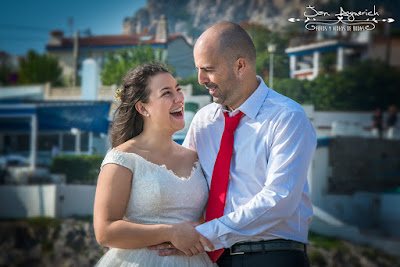 Reportaje boda playa barcelona