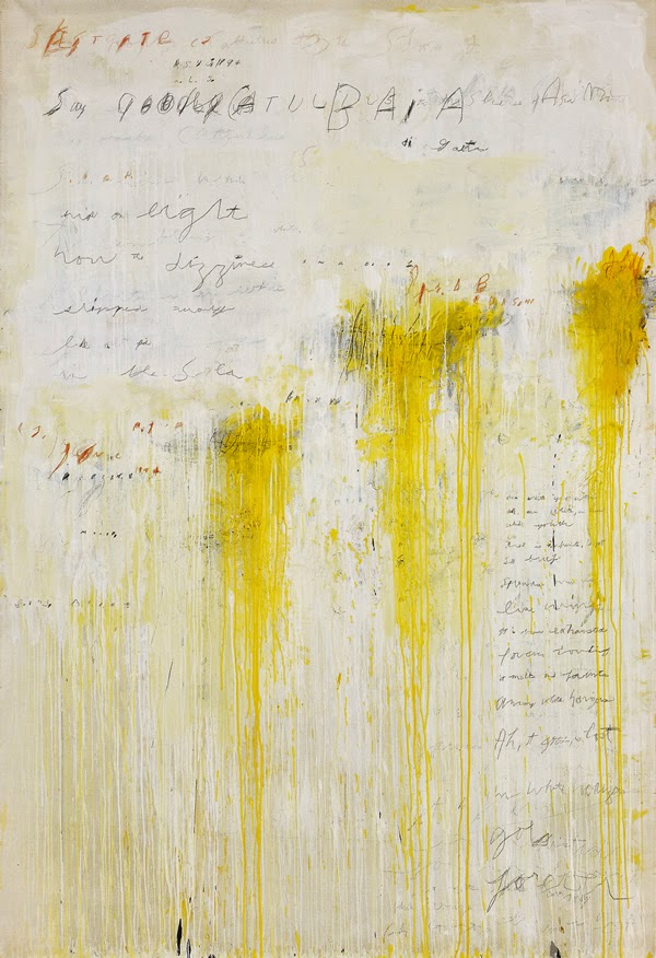 my magical attic: american painter cy twombly