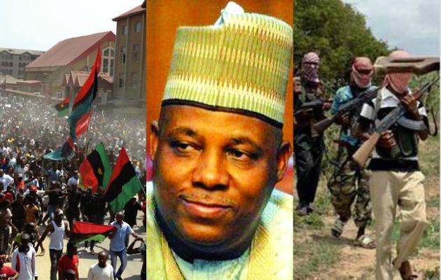 'IPOB crisis is bigger than Boko Haram' – Gov. Shettima