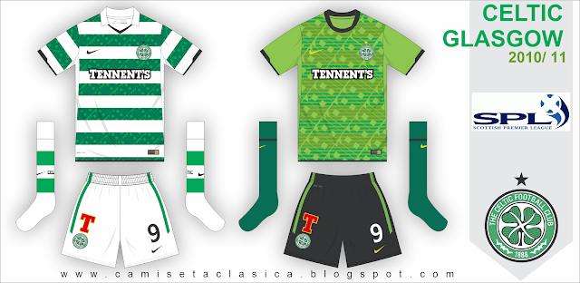 Celtic Glasgow 2010 - 11