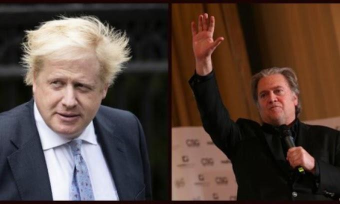 Revelan los lazos de STEVE BANNON con el esperanzado candidato a primer ministro BORIS JOHNSON