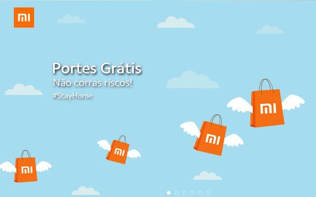 Loja Online da Xiaomi em Portugal com Portes Gratuitos