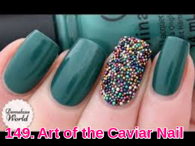 Art of the Caviar Nail