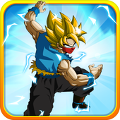 Download Goku Saiyan Battle Mod Apk Terbaru v3.0 Unlimited Money Update 2017