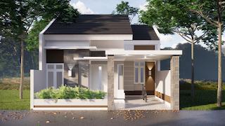 Model Desain Rumah Minimalis 7x12