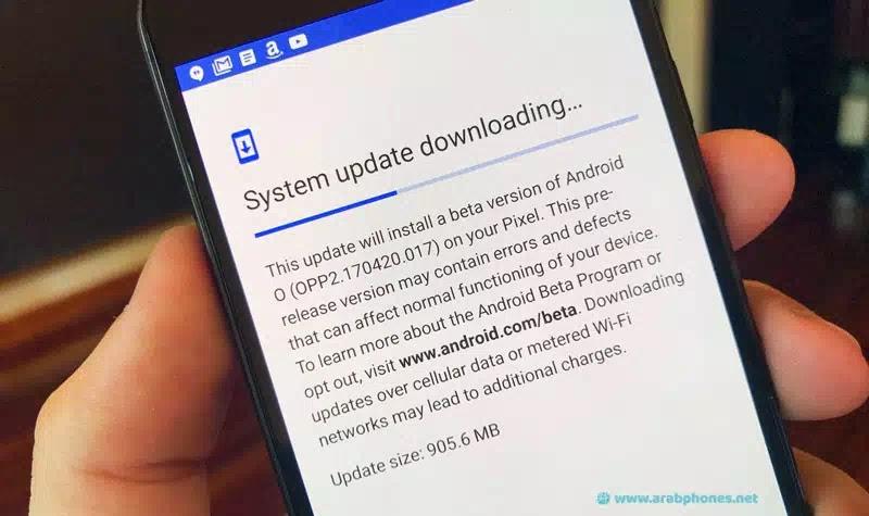 تحديث نظام التشغيل Android