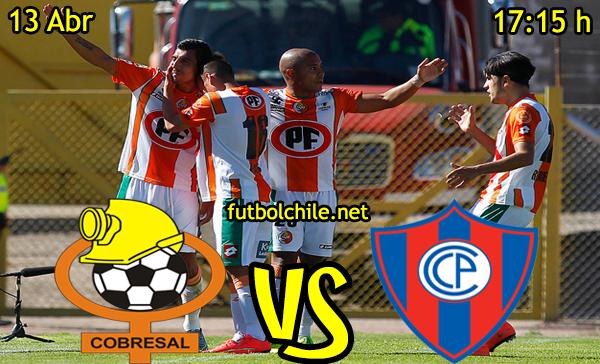 VER STREAM RESULTADO EN VIVO, ONLINE:  Cobresal vs Cerro Porteño