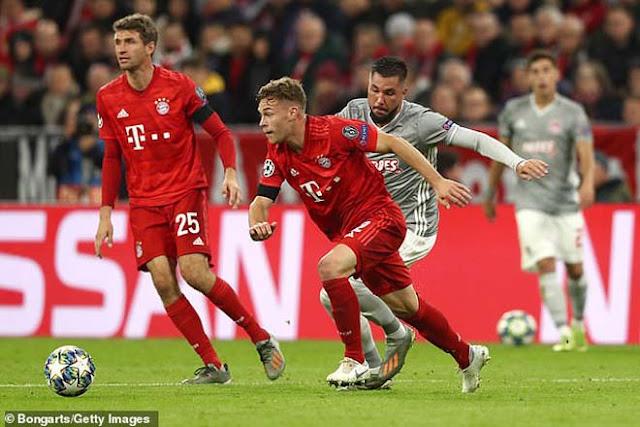 Video Bayern Munich 2-0 Olympiakos: Người hùng quen mặt, định đoạt phút 89