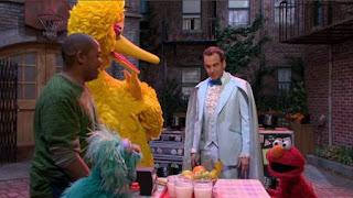 Big Bird, Elmo, Rosita, Chris, Max the Magician, Will Arnett, Sesame Street Episode 4323 Max the Magician season 43