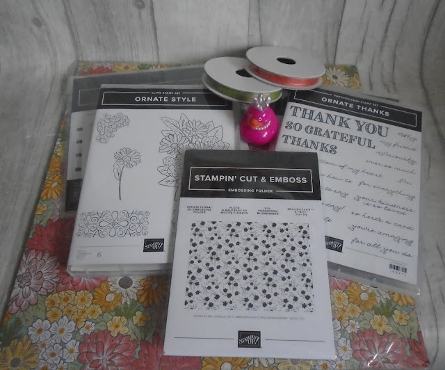 Craftyduckydoodah!, Ornate Garden Suite Early Release, Susan Simpson UK Independent Stampin' Up! Demonstrator, Supplies available 24/7 from my online store,