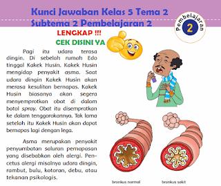 Kunci Jawaban Kelas 5 Tema 2 Subtema 2 Pembelajaran 2 www.simplenews.me