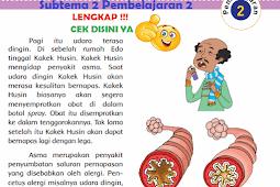 LENGKAP !!! Kunci Jawaban Kelas 5 Tema 2 Subtema 2 Pembelajaran 2