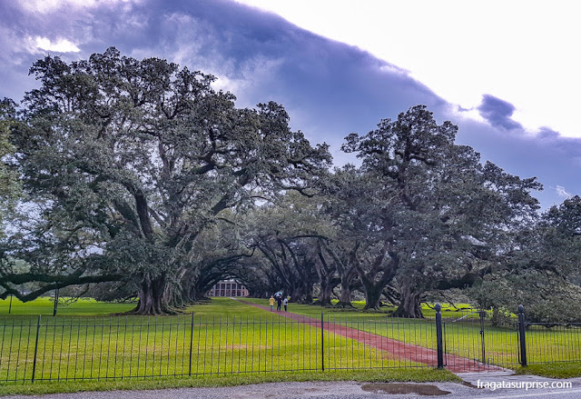 Oak Alley Plantation, Luisiana