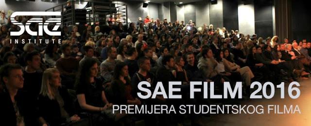 Godišnja revija filmova studenata SAE Instituta