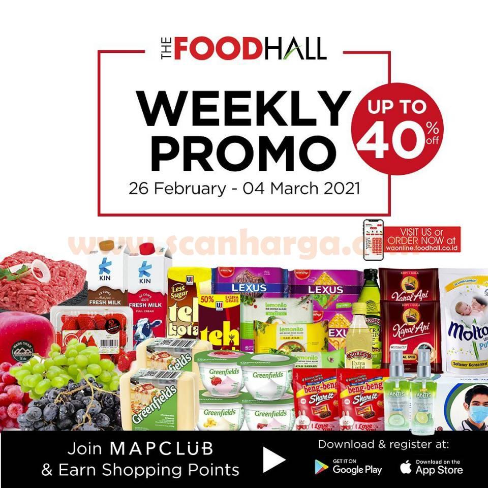 Katalog Promo Foodhall Weekly Special 26 Februari - 4 Maret 2021