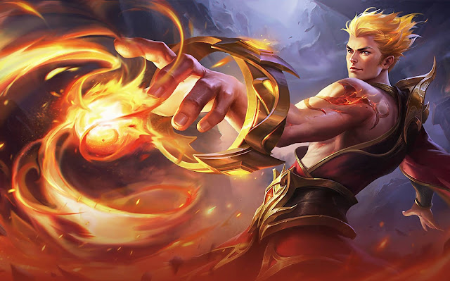 Valir Son Of Flame Heroes Mage of Skins Mobile Legends Wallpaper HD for PC
