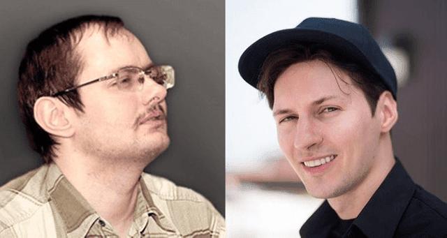 Pavel Durov dan Nikolai Durov