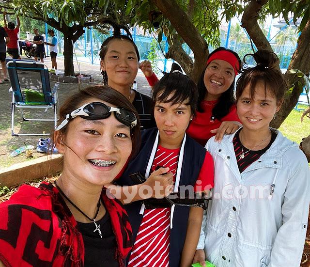 Pass The Brush Challenge Ala Srikandi Tenis Indonesia, Ini Kata Aldila dkk