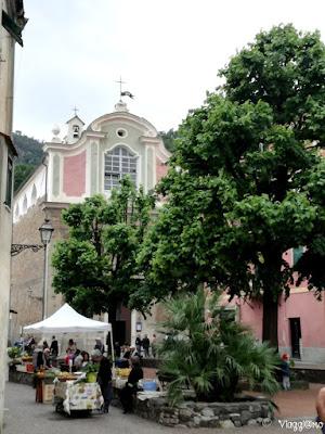 L'Oratorio di Sant'Anna nel centro storico di Noli