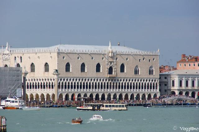 Il bellissimo Palazzo Ducale a Venezia