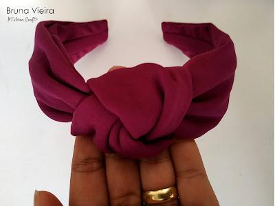 Como fazer tiara turbante