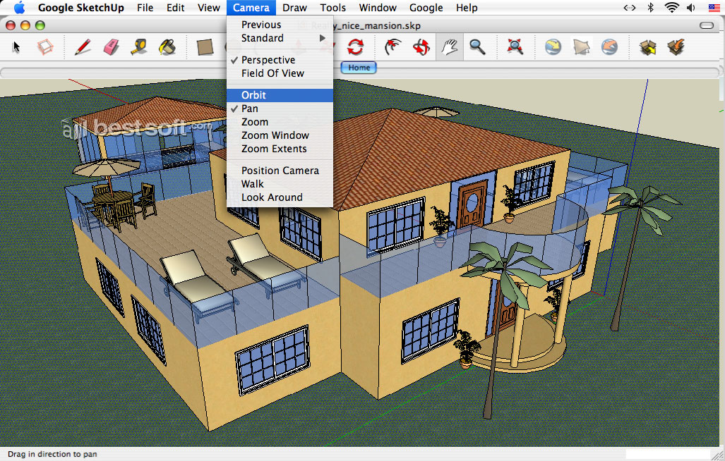 free pc softwares and tricks: Google sketchup best 3d software free