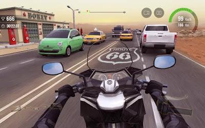تحميل لعبة موتو سباق المرور 2 Moto Traffic Race 2 النسخة المهكرة