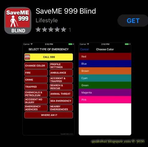 SaveMe 999 Blind
