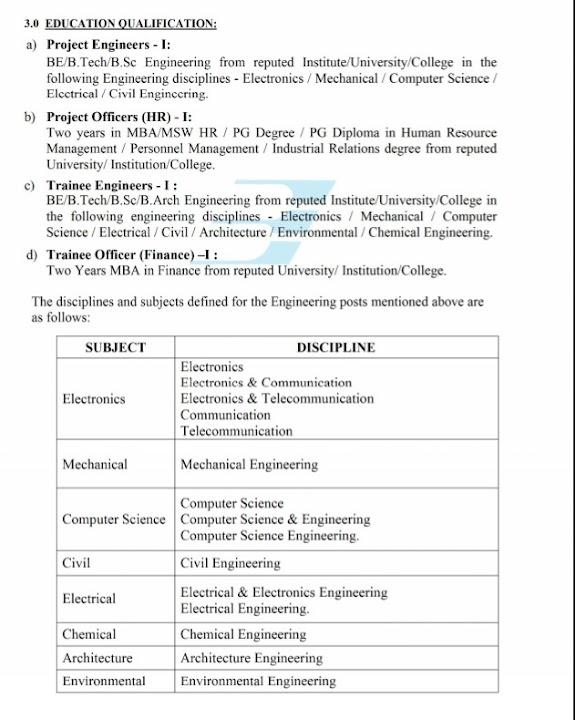 BEL Trainee Engineering Jobs 2020 Bangalore