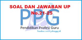 Soal dan Jawaban UP PPG 5